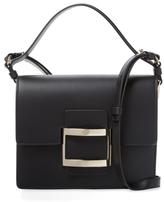 Roger Vivier Miss Viv Small Leather Satchel