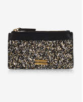 Express glitter credit card holder