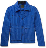 Craig Green Quilted Shell Jacket - Bright blue