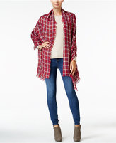 INC International Concepts Contoured Houndstooth Scarf, Only at Macy's