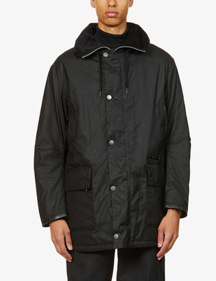 Barbour Supa-Border waxed-cotton jacket