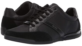 HUGO BOSS Saturn Mixed Materials by BOSS (Black) Men's Shoes
