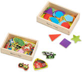 Melissa & Doug Kids' Shapes and Farm Wooden Magnets Gift Set