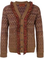 Missoni frayed detail cardigan