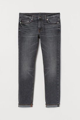 H&M Slim Selvedge Jeans - Gray