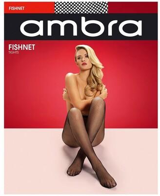 Ambra Fishnet Black S/M