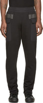Damir Doma Black Paneled Pocket Plejona Lounge Pants