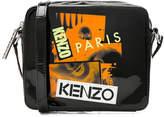 Kenzo Patent Leather Shoulder Bag