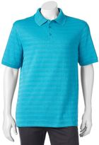 Haggar Men's Classic-Fit Texture-Striped Polo