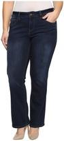 Jag Jeans Plus Size Atwood Boot in Platinum Denim in Indio
