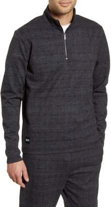 NATIVE YOUTH Delon Textured Quarter Zip Sweater