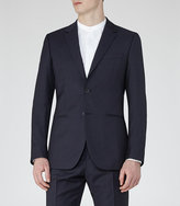 Reiss Pose B Textured Wool Blazer