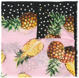 Dolce & Gabbana pineapple pattern scarf