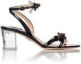 Paul Andrew WOMEN'S FLOELLA PATENT LEATHER ANKLE-STRAP SANDALS