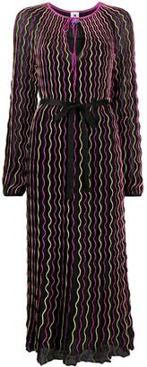 M Missoni Zigzag Stripe Maxi Dress