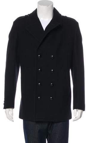 Givenchy Virgin Wool Peacoat