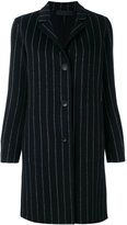 Rag & Bone pinstripe buttoned coat - women - Cashmere/Wool - S