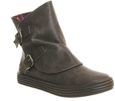 Blowfish Oil Buckle Boots