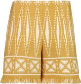 Tory Burch Savora jacquard-tweed shorts