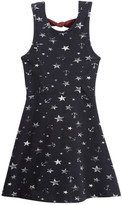 Vintage Havana Anchor & Star Print Bow Back Dress (Big Girls)
