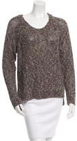 Rag & Bone Patterned Scoop Neck Sweater