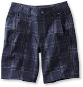 L.L. Bean Boys' Land-to-Sea Shorts, Plaid
