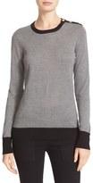 Equipment Women's Ondine Silk & Cashmere Shoulder Button Sweater