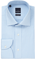 Daniel Hechter Gingham Tailored Fit Shirt, Blue/white