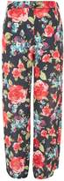 Love **Floral Print Palazzo Trousers