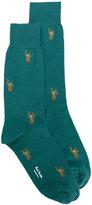 Paul Smith ape socks - men - Cotton/Polyamide - One Size