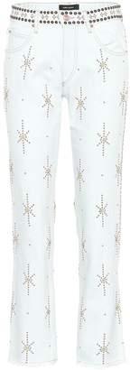 Isabel Marant Nolan embellished jeans