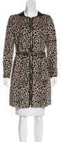 3.1 Phillip Lim Fur Knee-Length Coat