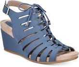 Giani Bernini Carisaa Ghillie Wedge Sandals, Created for Macy's