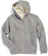 Tucker + Tate Boy's Fleece Lined Zip Hoodie