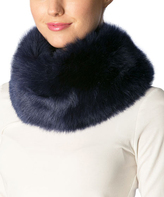 Pure Style Girlfriends Navy Faux Fur Magnetic Lock Snood