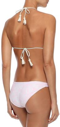 Mikoh Zuma Printed Low-rise Bikini Briefs
