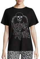 R 13 Nothing Sacred Skull Cashmere Tee