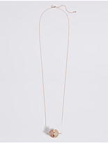 M&S Collection Circle Ball Necklace
