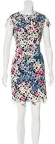 Nicole Miller Printed Lace Dress w/ Tags