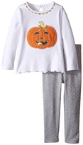 Mud Pie Pumpkin Tunic & Leggings Set (Infant)