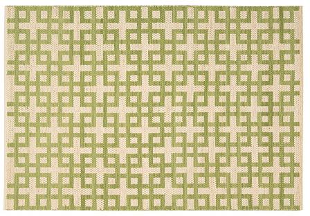 Kelly Flat-Weave Rug, Moss