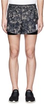 "Satisfy 'Short Distance 3""' camouflage print running shorts"