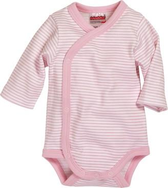 Schnizler Baby Girls 0-24m Wickelbody Ringel Bodysuit