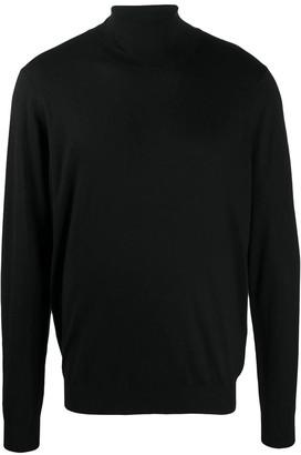 Laneus Turtleneck Silk Cashmere
