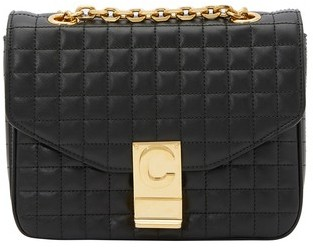Celine Small C Bag In Quilted Calfskin