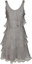 Armani Collezioni Ruffled Layered Dress