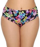 Plus Size Electroflower Bardot Bikini Top
