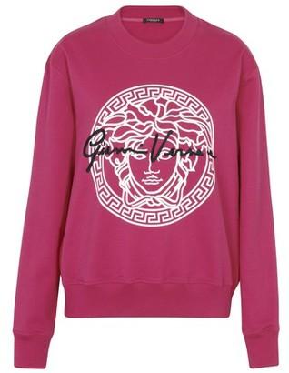 Versace logo and signature crew neck sweatshirt