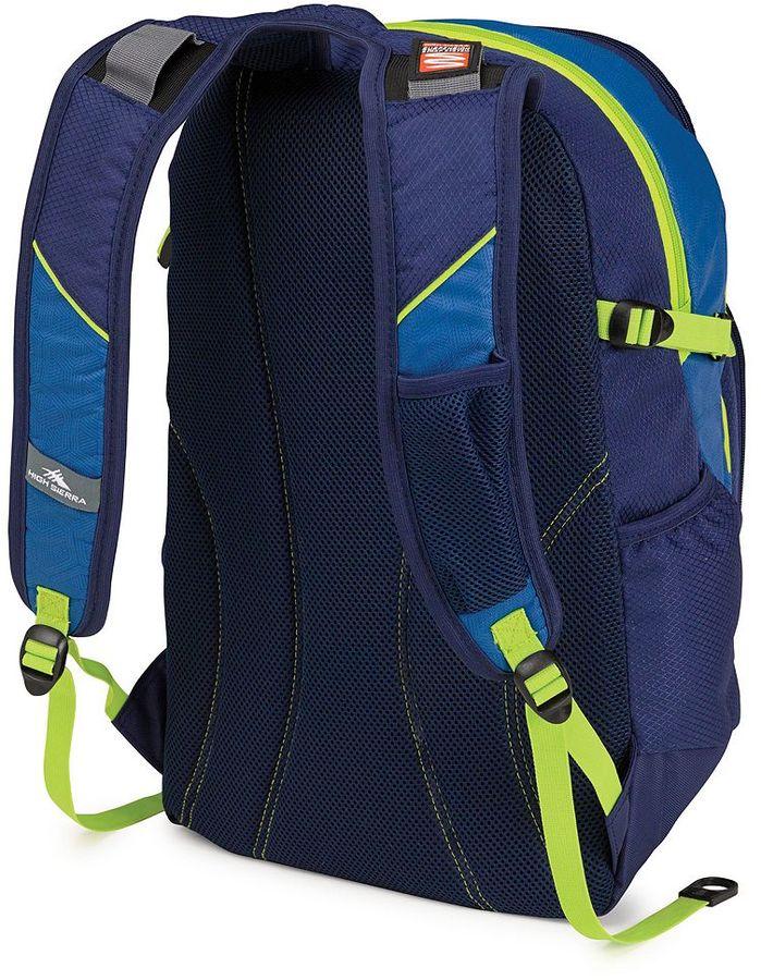 High Sierra scrimmage laptop backpack