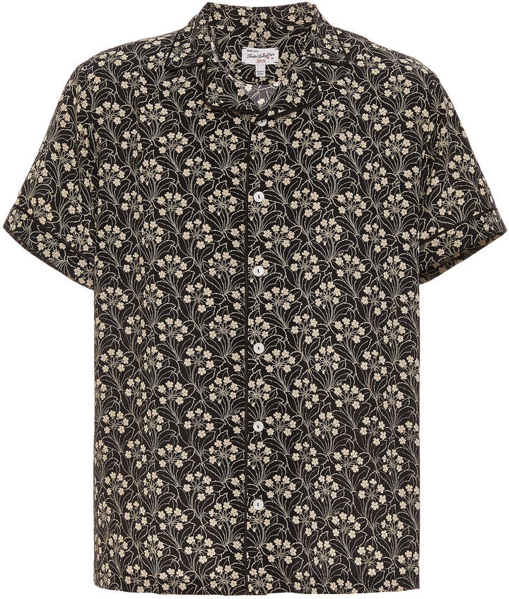 HVN Exclusive Printed Silk Shirt